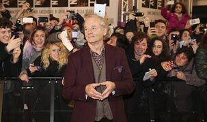Bill Murray poses for photographers on a red carpet in Pioltello, Italy, on Feb. 10, 2014. Murray plays a curmudgeonly retiree who forges an unlikely friendship with a 12-year-old neighbour, in a film presented at the Toronto International Film Festival that kicks off Thursday THE CANADIAN PRESS/ Antonio Calanni