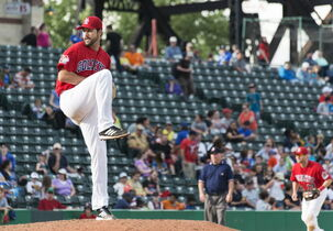 Nick Hernandez pitched 7 2/3 innings with five strikeouts to get the win against the T-Bones Sunday.