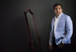 Actor Benito Martinez poses for a photo to promote his new show