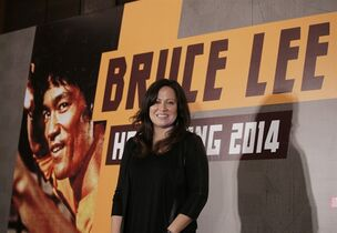 HOLD FOR STORY - FILE - In this Nov. 24, 2014 file photo, Shannon Lee, daughter of Bruce Lee and president of the