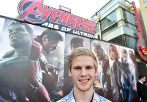 Georgia film blogger Reid Jones was invited to the première of Avengers: Age of Ultron. The 16-year-old is a big Marvel movie fan.
