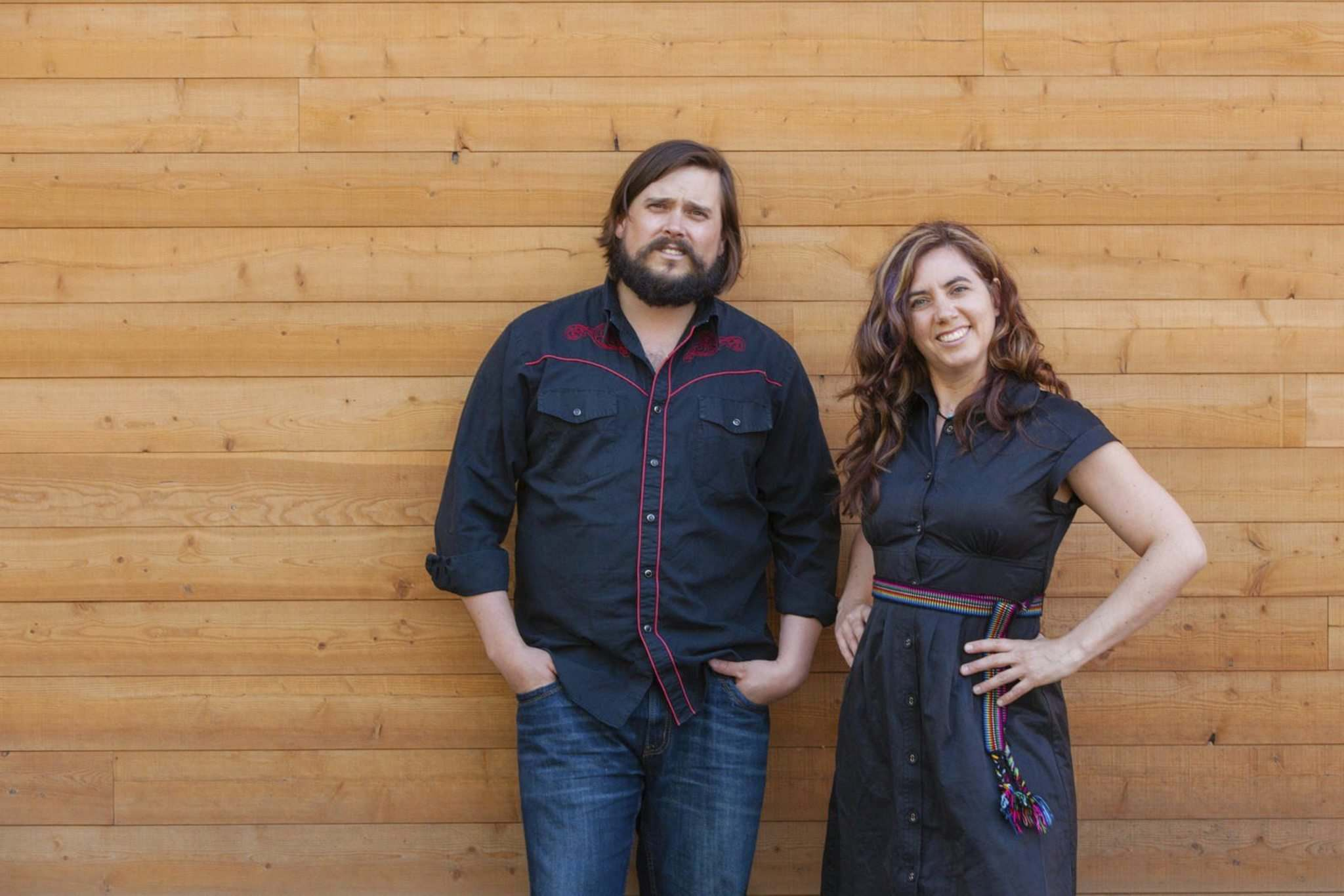 Supplied</p><p>JD Edwards (left) and Cara Luft of the Small Glories release their debut album, Wondrous Traveler, on Feb. 27.</p><p>