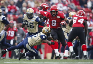 Stampeders running back Jon Cornish could gallop for a country mile tonight against Winnipeg's porous run defence.