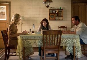 In this image released by Roadside Attractions, Joely Richardson, from left, Abigail Breslin and Arnold Schwarzenegger appear in a scene from