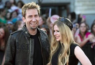 Chad Kroeger and Avril Lavigne are pictured in Toronto on June 16, 2013. THE CANADIAN PRESS/Nathan Denette