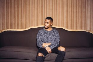 FILE - In this Feb. 19, 2015 file photo, singer Big Sean poses for a portrait at The Redbury Hotel in Los Angeles to promote his latest album,