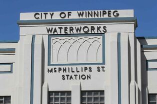 The old McPhillips Street Pumping Station on Hillock Avenue.