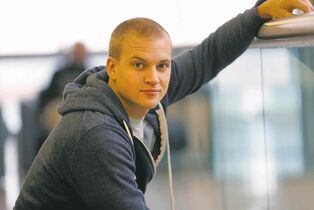 Marshall Williams, who grew up in Charleswood, is excited about his prospects after Glee wraps up its final season.