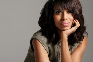 Actress Kerry Washington poses for a portrait in Los Angeles on Sept. 7, 2014. THE CANADIAN PRESS/AP, Matt Sayles/Invision