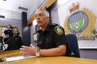 Const. Eric Hofley called the case 'tragic beyond belief' at a news conference Tuesday.