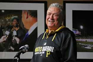 Pittsburgh Pirates manager Clint Hurdle answers a question during a press conference at PNC Park in Pittsburgh Tuesday, Sept. 30, 2014. The Pirates face the San Francisco Giants in the National League Wild Card game Wednesday in Pittsburgh. (AP Photo/Gene J. Puskar)