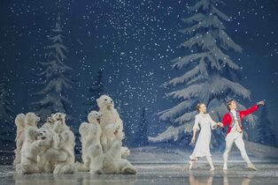 Polar bear cubs delighted the audience in the Royal Winnipeg Ballet's Nutcracker.