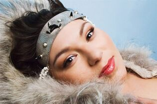 Inuit throat singer Tanya Tagaq is shown in a handout photo. Tagaq claimed the $30,000 Polaris Music Prize on Monday night, then used her acceptance speech to support the wearing and eating of seal - and lob an expletive at People for the Ethical Treatment of Animals. THE CANADIAN PRESS/HO
