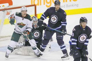 Throughout his career, 6-4 Jets defenceman Adam Pardy has kept his chin up and his nose to the grindstone while waiting for opportunities.