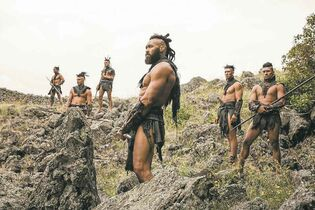 A scene from The Dead Lands, a New Zealand film.