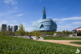 The Canadian Museum For Human Rights in Winnipeg is shown in a handout photo. THE CANADIAN PRESS/HO, Canadian Museum of Human Rights - Aaron Cohen