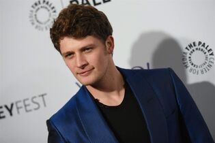 Canadian actor Brett Dier arrives at the 32nd Annual Paleyfest :
