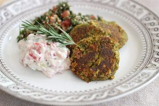 This Feb. 23, 2015 photo shows spicy cashew falafel in Concord, N.H. (AP Photo/Matthew Mead)