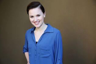FILE - In this Saturday, March 8, 2014, file photo, Veronica Roth, author of the book,