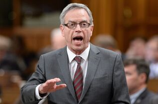 Finance Minister Joe Oliver answers a question during Question Period in the House of Commons in Ottawa on Tuesday, Jan. 27, 2015. Canada's middle class is the darling of doting politicians everywhere — the focus of a growing list of election promises, the subject of endless speeches, the precious vote-rich prize whose support can make or break a political party in this year's federal election. THE CANADIAN PRESS/Sean Kilpatrick