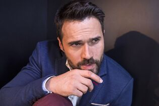 Actor Brett Dalton is pictured in Toronto as he promotes the television show