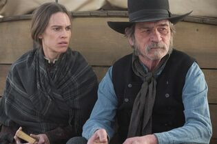 Hilary Swank and Tommy Lee Jones star in '��The Homesman,'�� also directed by Jones. THE CANADIAN PRESS/HO-Mongrel Media