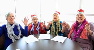 The Rocking Parkway Grannies rolled to victory in the Winnipeg Free Press's first Hark! The Workplace Choirs Sing contest.