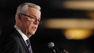 Premier Greg Selinger (above), Theresa Oswald and Steve Ashton are all paying for some delegates to attend the convention, their campaign officials confirm.