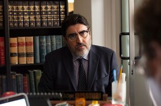 This image released by Sony Pictures Classics shows Alfred Molina in a scene from