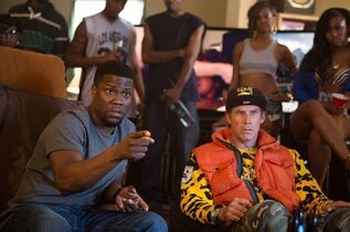 In this image released by Warner Bros. Entertainment Inc., Kevin Hart, left, and Will Ferrell appear in a scene from the film,