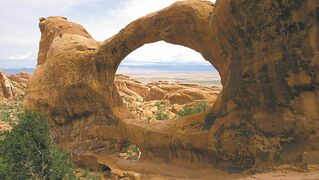 Arches National Park, near Moab, Utah, was one of the  road-trip destinations of our columnist.