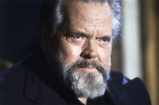 """FILE - This Feb. 22, 1982 file photo shows actor and movie director Orson Welles during a press conference in Paris. Welles's last film may finally be nearing release after decades as one of cinema's most storied unfinished creations. The New York Times reported Wednesday, Oct. 29, 2014, that a Los Angeles-based production company, Royal Road Entertainment, has agreed to buy the rights to Welles' largely unseen """"The Other Side of the Wind."""" (AP Photo/Jacques Langevin, File)"""