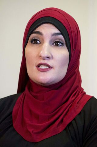 Activist Linda Sarsour has drawn some criticism for pro-Palestinian remarks regarding the Israeli-Palestinian conflict. (Mark Lennihan / The Associated Press files)