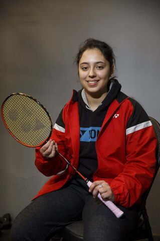 Olivia Meier is coming off an incredible year where she won a silver medal in women's singles and gold in mixed doubles at the 2019 Para Pan Am Games in Peru. (Mike Deal / Winnipeg Free Press)