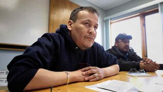 Lake St. Martin First Nation Chief Adrian Sinclair is cautiously optimistic about a new townsite.