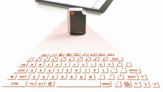The Virtual Keyboard from Brookstone.