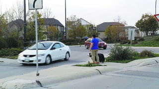 The lack of courtesy shown by many drivers at crosswalks and roundabouts is disheartening.