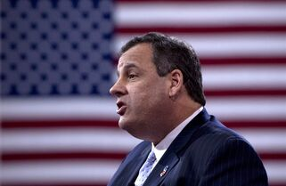 New Jersey Gov. Chris Christie speaks during the Conservative Political Action Conference (CPAC) in National Harbor, Md., Thursday, Feb. 26, 2015. (AP Photo/Carolyn Kaster)
