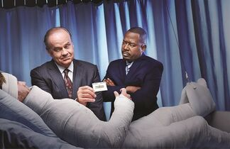Kelsey Grammer (left) and Martin Lawrence star in the new television series