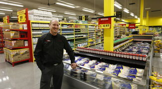 Casey Hellard is the owner of the new No Frills grocery store on Main Street at Luxton Avenue. The site is a former Extra Foods store, as is the other No Frills location opening on Notre Dame Avenue.