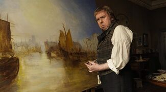 Timothy Spall is shown in a scene from
