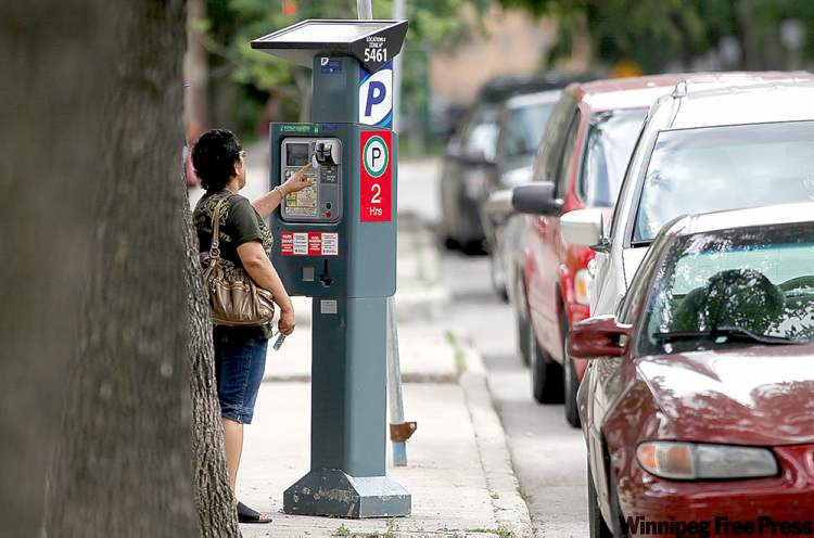 The city is setting up a pilot project that will cost residents $100 per month to get two hours of free parking each day.