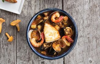 Left Coast Seafood Stew from