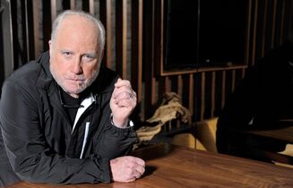 Richard Dreyfuss poses for a photo at The Roosevelt Hotel in Los Angeles on April 11, 2014. Academy Award-winning actor Richard Dreyfuss says that of his 1970s sci-fi hits, he believes