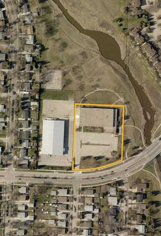 City of Winnipeg</p><p>An aerial view of the proposed rehab facility site.</p>