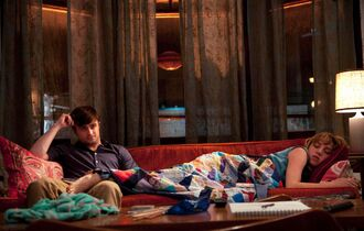 The de-Potterization of Daniel Radcliffe continues. Radcliffe and Zoe Kazan in the romantic comedy 'What If.'