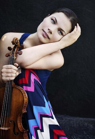 Lisa Marie Mazzucco photo</p><p>Violinist Bella Hristova enthralled the audience in her performance with the WSO, Friday evening, in their inaugural concert of the New Year: Bach, Mendelssohn and Schumann .</p>