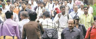 Hungry for jobs: India probably needs to grow at six per cent or more to maintain financial stability.