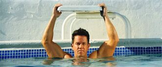 Mark Wahlberg as Daniel Lugo in Pain and Gain, directed by Michael Bay from Paramount Pictures.