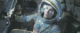 This image released by Warner Bros. Pictures shows Sandra Bullock in a scene from Gravity. (AP Photo / Warner Bros. Pictures)